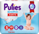 Подгузники-трусики детские Pufies Sensitive Junior 12-18кг (42шт) -