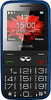 Мобильный телефон Texet TM-B227 (синий) -