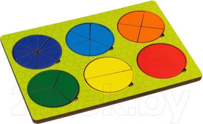 Развивающая игрушка Paremo Вкладыши 6 кругов / PE720-32