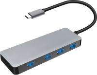 USB-хаб Platinet Type-C to USB 3.0 4-Port (PMMA9071) -