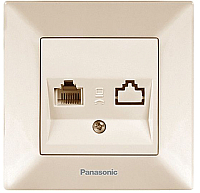 Розетка Panasonic Arkedia WMTC04042BG-BY -