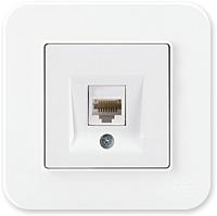Розетка Gunsan Eqona 01409300-157130 (белый) -