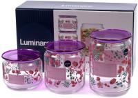 Набор емкостей для хранения Luminarc Irises P9216 -
