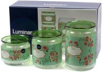 Набор емкостей для хранения Luminarc Mint Green P9215 -