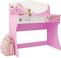 Письменный стол ABC-King Фея / F-1017-R (розовый) -