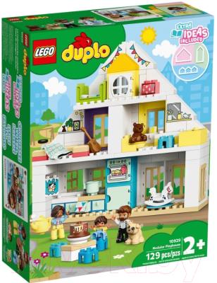 Конструктор Lego DUPLO Town Модульный игрушечный дом 10929