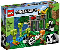 Конструктор Lego Minecraft Питомник панд 21158 -