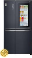 Холодильник с морозильником LG DoorCоoling+ GC-Q247CBDC -