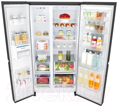 Холодильник с морозильником LG DoorCooling+ GC-Q247CBDC