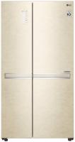Холодильник с морозильником LG DoorCоoling+ GC-B247SEDC -