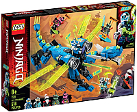 Конструктор Lego Ninjago Кибердракон Джея 71711 -