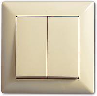 Выключатель Gunsan Visage 01 28 12 00 150 103 (кремовый) -