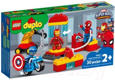 Конструктор Lego Marvel Лаборатория супергероев 10921