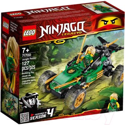 Фото - Конструктор Lego Ninjago Тропический внедорожник 71700 конструктор lego ninjago 70599 дракон коула