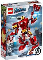Конструктор Lego Marvel Железный Человек трасформер 76140 -