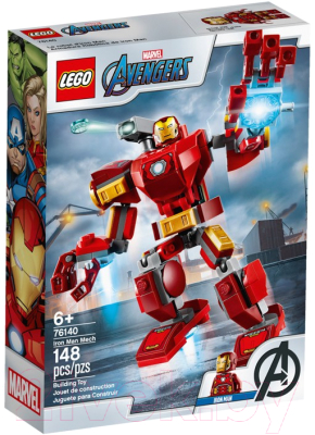 Конструктор Lego Marvel Железный Человек трасформер 76140