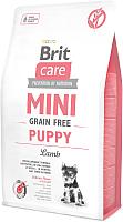 Корм для собак Brit Care Mini GF Puppy Lamb / 520152 (7кг) -