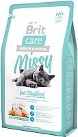 Корм для кошек Brit Care Cat Missy for Sterilised / 132625 (2кг) -