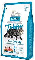 Корм для кошек Brit Care Cat Tobby I'm a Large Cat / 512997 (2кг) -