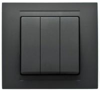 Выключатель Gunsan Visage 01 28 34 00 150 160 (черный) -