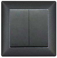 Выключатель Gunsan Visage 01 28 34 00 150 103 (черный) -