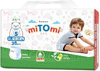 Подгузники-трусики детские MiTomi Premium XL от 12 до 22кг (38шт) -