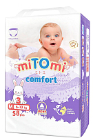 Подгузники-трусики детские MiTomi Comfort M от 6 до 10кг (58шт) -