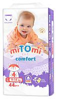 Подгузники-трусики детские MiTomi Comfort L от 9 до 14кг (44шт) -