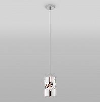 Потолочный светильник Евросвет 50184/1 (хром) -