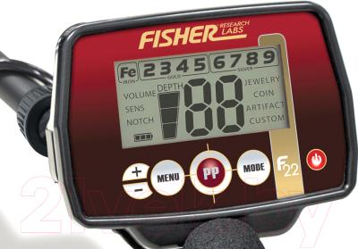 Металлоискатель Fisher Labs F22