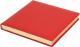 Ежедневник Brunnen Квадро Софт 766 36-20 (красный) -