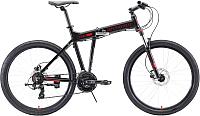Велосипед STARK Cobra 26.2 HD 2020 (20, черный/красный) -