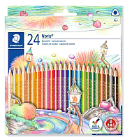 Набор цветных карандашей Staedtler Триплюс Слим 127 NC24 -