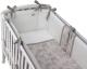 Комплект постельный в кроватку Perina Эльфетто / ЭФ6-02.2 (молочный/белый) -