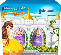 Набор косметики детской Johnson's Шампунь 300мл+спрей-кондиционер 200мл -
