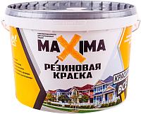 Краска Super Decor Maxima резиновая №111 Уголь (2.5кг) -