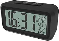 Радиочасы Ritmix CAT-100 (черный) -