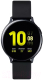 Умные часы Samsung Galaxy Watch Active2 44mm Aluminium / SM-R820NZKRSER (лакрица, с дополнительным ремешком) -