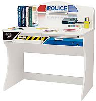 Письменный стол ABC-King Police / PC-1017 (черный) -