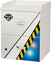 Тумба ABC-King Police / PC-1020 (черный) -