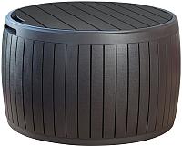 Стол садовый Keter Circa Wood Box / 230405 (коричневый) -