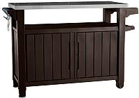 Стол садовый Keter Unity xl Storage Buffet 183l / 230409 (коричневый) -