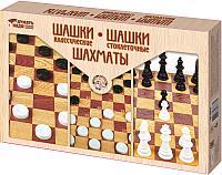 Набор игр Десятое королевство Шахматы и шашки / 3873 -