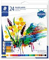 Акриловые краски Staedtler 8500 C24 -