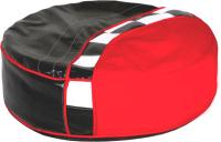 Пуфик ABC-King Formula / ADV-00-FR-192 (черный/красный) -