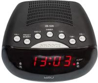 Радиочасы Miru CR-1029 (черный) -