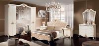 Комплект мебели для спальни ФорестДекоГрупп Инесса-5К (жемчуг) -