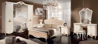 Комплект мебели для спальни ФорестДекоГрупп Инесса-5С (жемчуг) -