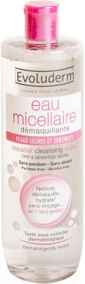 Мицеллярная вода Evoluderm Dry & Sensitive Skin (50мл)