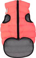 Куртка для животных AiryVest 1676 (S, коралловый/серый) -